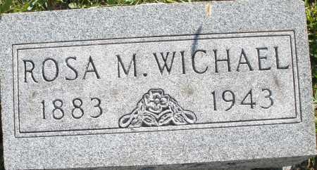WICHAEL, ROSA M. - Darke County, Ohio | ROSA M. WICHAEL - Ohio Gravestone Photos