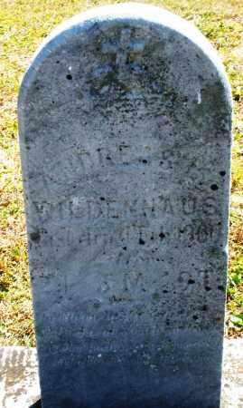 WILDENHAUS, ANDREAS - Darke County, Ohio   ANDREAS WILDENHAUS - Ohio Gravestone Photos