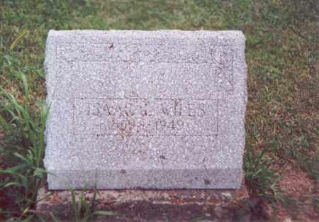 WILES, ISAAC L. - Darke County, Ohio | ISAAC L. WILES - Ohio Gravestone Photos
