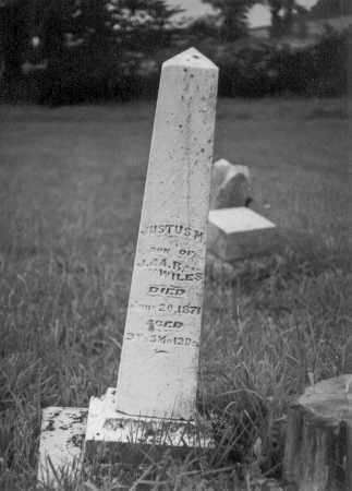 WILES, JUSTUS M. - Darke County, Ohio | JUSTUS M. WILES - Ohio Gravestone Photos