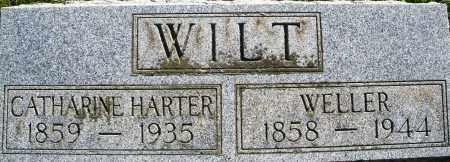 HARTER WILT, CATHARINE - Darke County, Ohio | CATHARINE HARTER WILT - Ohio Gravestone Photos