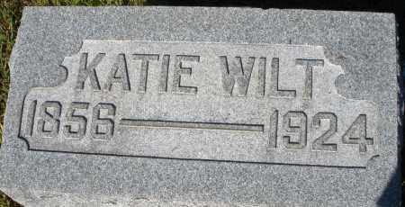 WILT, KATIE - Darke County, Ohio   KATIE WILT - Ohio Gravestone Photos