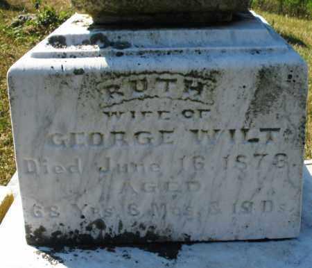 WILT, RUTH - Darke County, Ohio   RUTH WILT - Ohio Gravestone Photos
