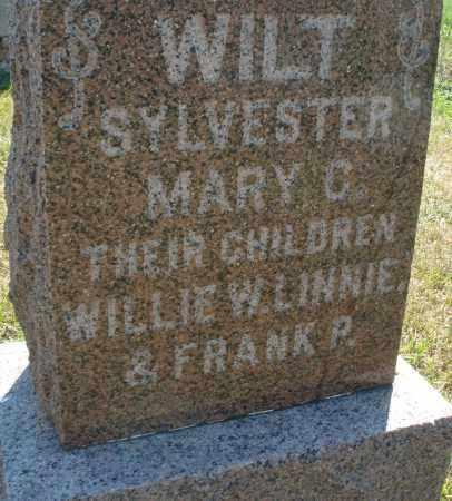 WILT, WILLIE W. - Darke County, Ohio | WILLIE W. WILT - Ohio Gravestone Photos
