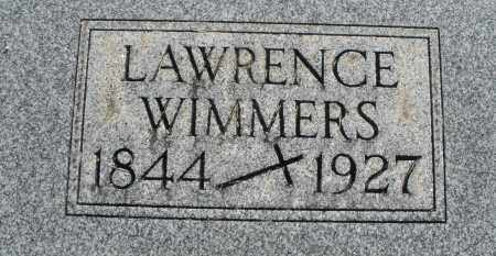 WIMMERS, LAWRENCE - Darke County, Ohio | LAWRENCE WIMMERS - Ohio Gravestone Photos