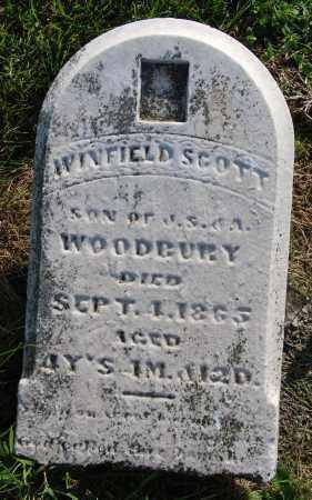 WOODBURY, WINFIELD SCOTT - Darke County, Ohio | WINFIELD SCOTT WOODBURY - Ohio Gravestone Photos