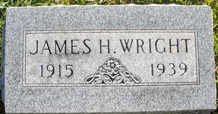 WRIGHT, JAMES H. - Darke County, Ohio | JAMES H. WRIGHT - Ohio Gravestone Photos