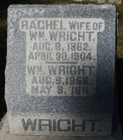 WRIGHT, RACHEL - Darke County, Ohio | RACHEL WRIGHT - Ohio Gravestone Photos