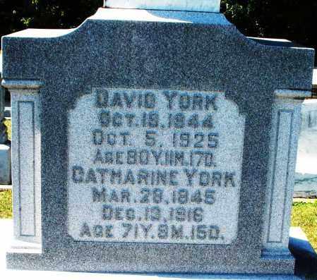 YORK, DAVID - Darke County, Ohio | DAVID YORK - Ohio Gravestone Photos