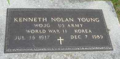 YOUNG, KENNETH NOLAN - Darke County, Ohio | KENNETH NOLAN YOUNG - Ohio Gravestone Photos