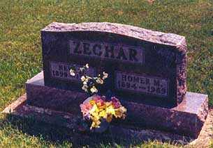 ZECHER, NEVA OPAL - Darke County, Ohio | NEVA OPAL ZECHER - Ohio Gravestone Photos