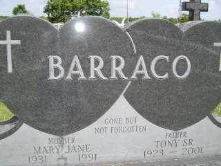 BARRACO, MARY JANE - Defiance County, Ohio   MARY JANE BARRACO - Ohio Gravestone Photos