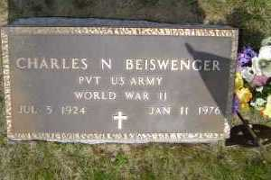 BEISWENGER, CHARLE N - Defiance County, Ohio | CHARLE N BEISWENGER - Ohio Gravestone Photos