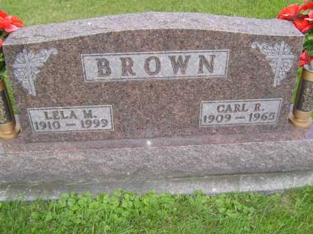 BROWN, LELA M - Defiance County, Ohio | LELA M BROWN - Ohio Gravestone Photos