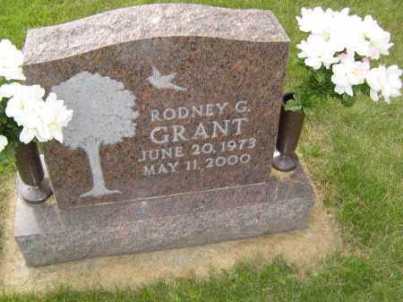 GRANT, RODNEY G - Defiance County, Ohio | RODNEY G GRANT - Ohio Gravestone Photos