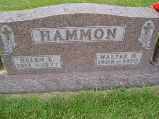 HAMMON, WALTER  H - Defiance County, Ohio | WALTER  H HAMMON - Ohio Gravestone Photos