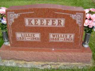 KEEFER, WILLIS - Defiance County, Ohio | WILLIS KEEFER - Ohio Gravestone Photos