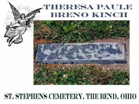 KINCH, THERESIA - Defiance County, Ohio | THERESIA KINCH - Ohio Gravestone Photos