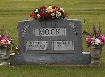 MOCK, LOWELL - Defiance County, Ohio | LOWELL MOCK - Ohio Gravestone Photos