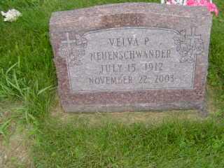 NEUENSCHWANDER, VELVA P - Defiance County, Ohio | VELVA P NEUENSCHWANDER - Ohio Gravestone Photos