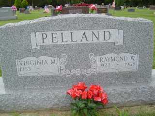 PELLAND, VIRGINIA M - Defiance County, Ohio | VIRGINIA M PELLAND - Ohio Gravestone Photos