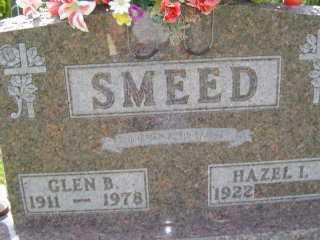 SMEED, GLEN B - Defiance County, Ohio   GLEN B SMEED - Ohio Gravestone Photos