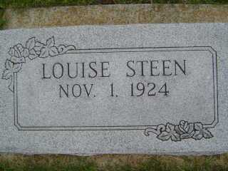 STEEN, LOUISE - Defiance County, Ohio | LOUISE STEEN - Ohio Gravestone Photos