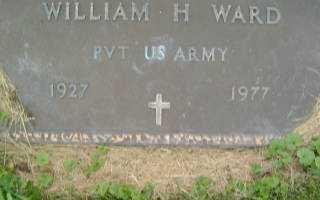 WARD, WILLIAM H. - Defiance County, Ohio   WILLIAM H. WARD - Ohio Gravestone Photos