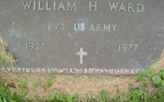 WARD, WILLIAM H. - Defiance County, Ohio | WILLIAM H. WARD - Ohio Gravestone Photos