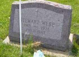 WEBB, STEWART - Defiance County, Ohio | STEWART WEBB - Ohio Gravestone Photos