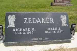 ZEDAKER, HELEN J - Defiance County, Ohio   HELEN J ZEDAKER - Ohio Gravestone Photos