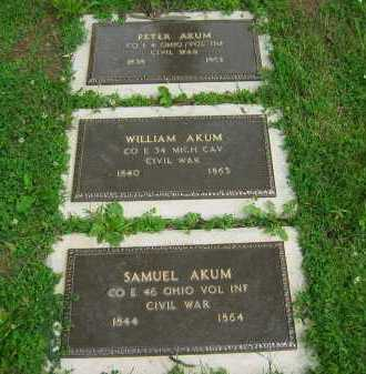 AKUM, PETER - Delaware County, Ohio | PETER AKUM - Ohio Gravestone Photos
