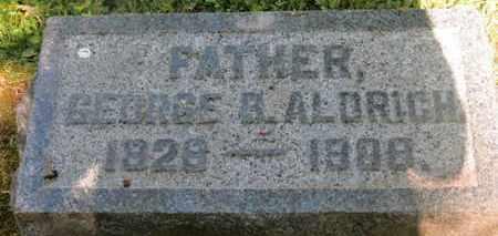 ALDRICH, GEORGE B. - Delaware County, Ohio | GEORGE B. ALDRICH - Ohio Gravestone Photos