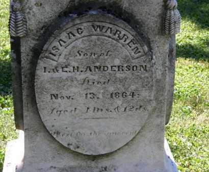 ANDERSON, ISAAC WARREN - Delaware County, Ohio | ISAAC WARREN ANDERSON - Ohio Gravestone Photos