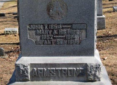 ARMSTRONG, MARY A. - Delaware County, Ohio | MARY A. ARMSTRONG - Ohio Gravestone Photos