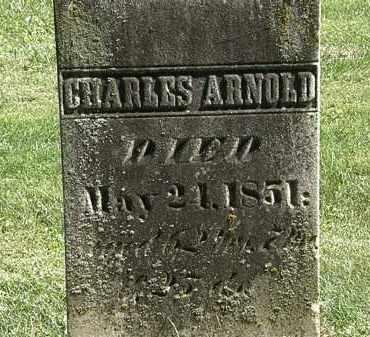 ARNOLD, CHARLES - Delaware County, Ohio | CHARLES ARNOLD - Ohio Gravestone Photos
