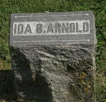 ARNOLD, IDA B. - Delaware County, Ohio   IDA B. ARNOLD - Ohio Gravestone Photos