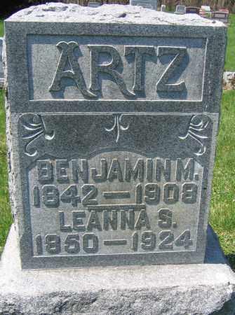 ARTZ, BENJAMIN M. - Delaware County, Ohio | BENJAMIN M. ARTZ - Ohio Gravestone Photos