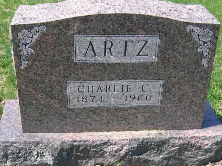ARTZ, CHARLES C. - Delaware County, Ohio   CHARLES C. ARTZ - Ohio Gravestone Photos