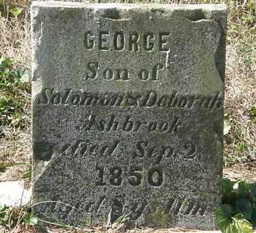 ASHBROOK, DEBORAH - Delaware County, Ohio | DEBORAH ASHBROOK - Ohio Gravestone Photos