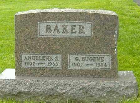 BAKER, ANGELENE S. - Delaware County, Ohio   ANGELENE S. BAKER - Ohio Gravestone Photos