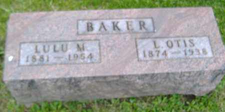 LATHROP BAKER, LULU M. - Delaware County, Ohio | LULU M. LATHROP BAKER - Ohio Gravestone Photos