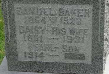 BAKER, SAMUEL - Delaware County, Ohio | SAMUEL BAKER - Ohio Gravestone Photos