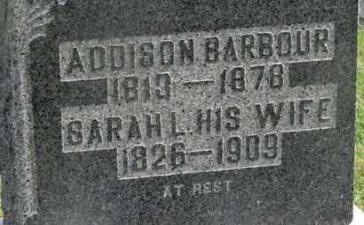 BARBOUR, ADDISON - Delaware County, Ohio   ADDISON BARBOUR - Ohio Gravestone Photos