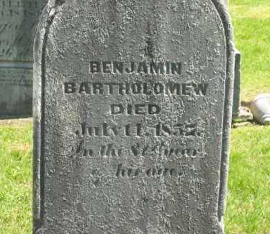 BARTHOLOMEW, BENJAMIN - Delaware County, Ohio | BENJAMIN BARTHOLOMEW - Ohio Gravestone Photos