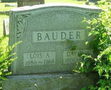 BAUDER, LOIS A. - Delaware County, Ohio | LOIS A. BAUDER - Ohio Gravestone Photos