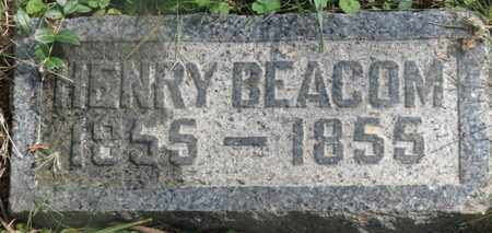 BEACOM, BEACOM - Delaware County, Ohio   BEACOM BEACOM - Ohio Gravestone Photos