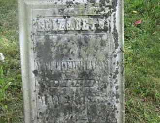 BEACOM, ELIZABETH - Delaware County, Ohio | ELIZABETH BEACOM - Ohio Gravestone Photos