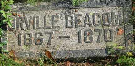 BEACOM, ORVILLE - Delaware County, Ohio   ORVILLE BEACOM - Ohio Gravestone Photos
