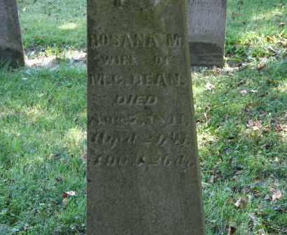BEAN, M.C. - Delaware County, Ohio | M.C. BEAN - Ohio Gravestone Photos